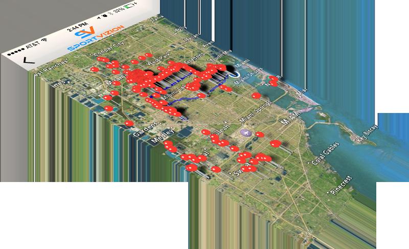 map slant mockup